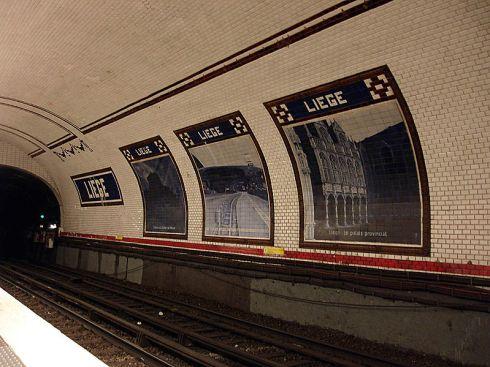 Metro de Paris- Liege